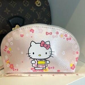 New Hello kitty makeup bag purse